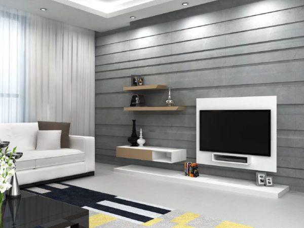 tv blanc