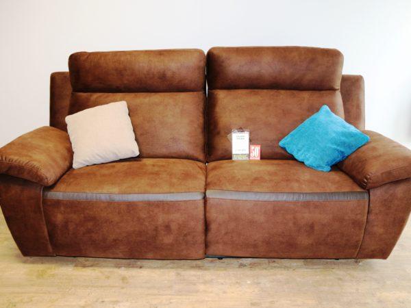 Canapé DALMA 3 places avec relax électriques 2199€ -50%