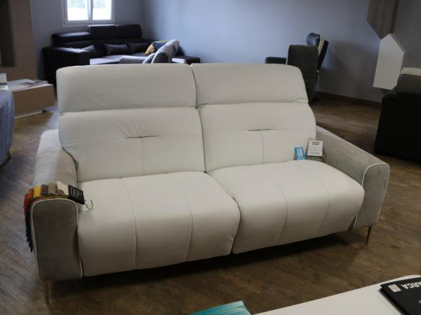 Canapé STORIA 2 places fixes avec relax 3319€ - 40%